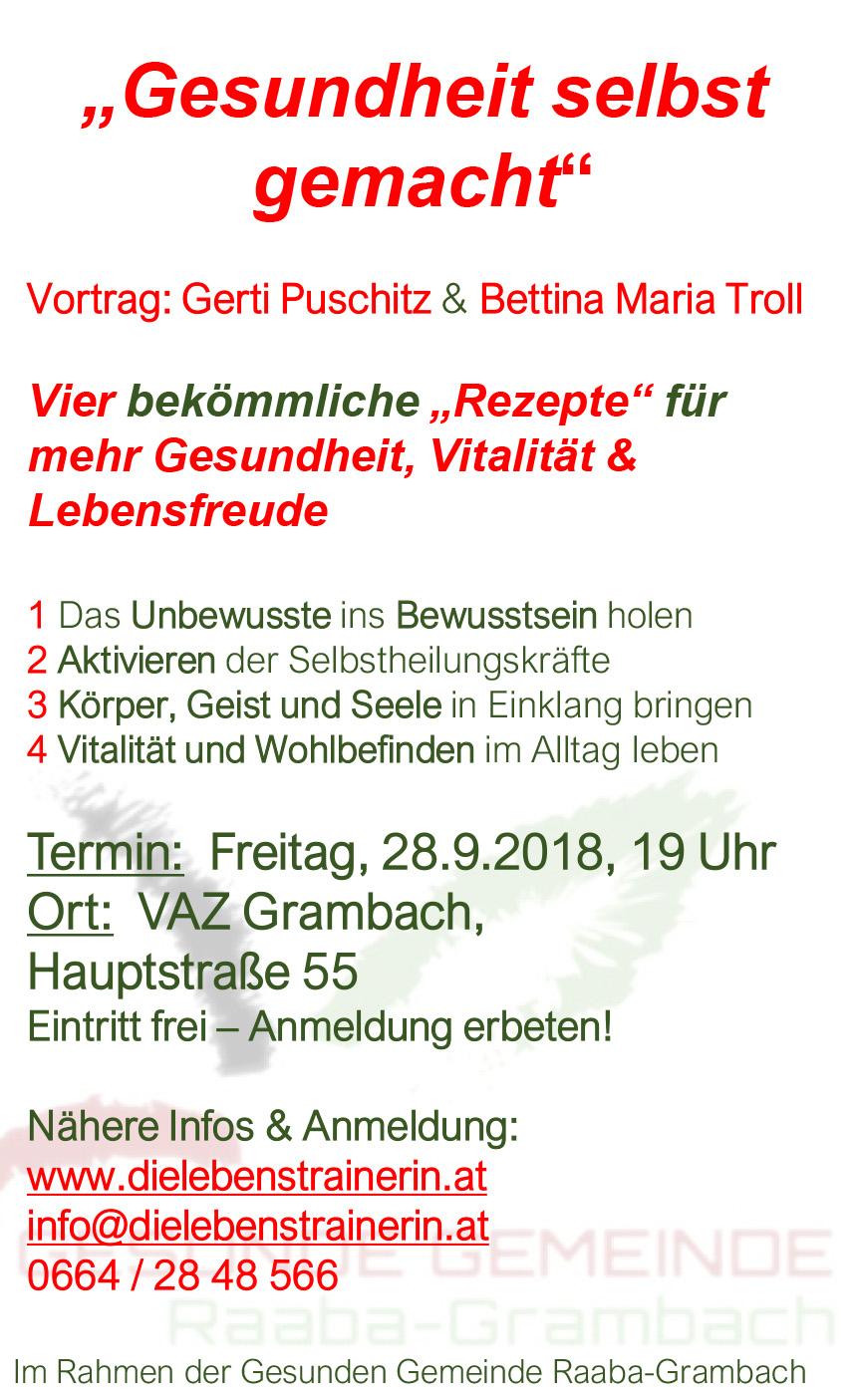 Gesunde Gemeinde - Raaba-Grambach